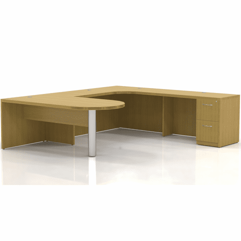 Mayline Aberdeen Office Desk Set Maple [AT13LMA]