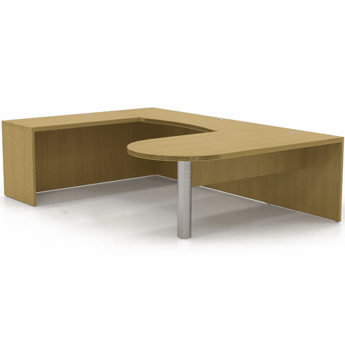 Mayline Aberdeen Office Desk Set Maple [AT14LMA]