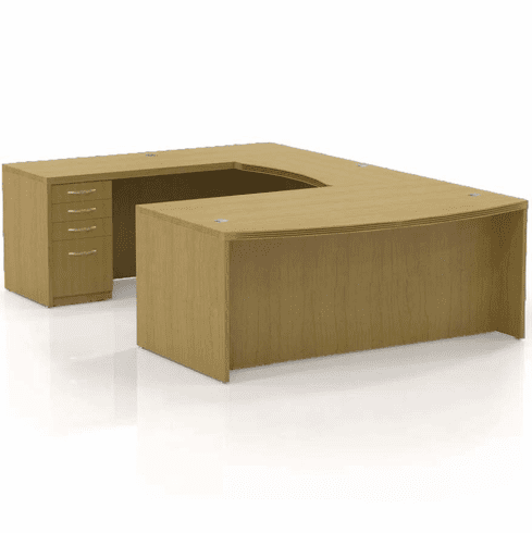 Mayline Aberdeen Office Desk Set Maple [AT3LMA]