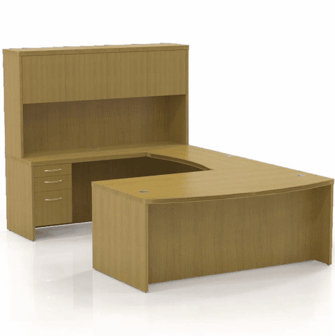 Mayline Aberdeen Office Desk Set Maple [AT4LMA]