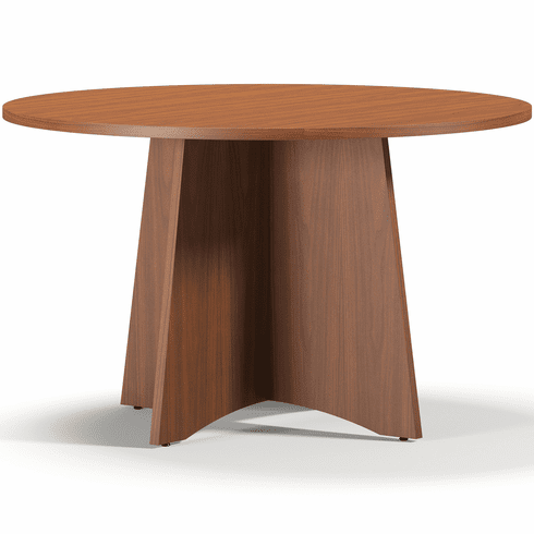 Mayline Brighton Round Conference Table Cherry [BTCTR48LCR]