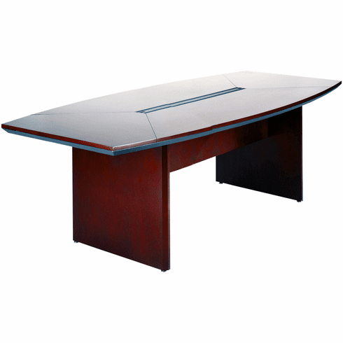 Mayline Corsica Conference Table Boat-Shaped Mahogany [CTC96MAH]