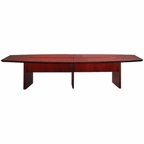 Mayline Corsica 14' Conference Table Boat-Shaped Sierra Cherry [CMT14CRY]