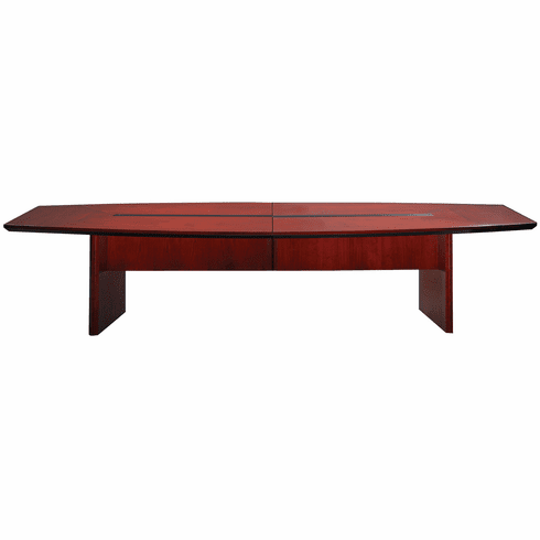 Mayline Corsica Conference Table Boat-Shaped Sierra Cherry [CTC120CRY]