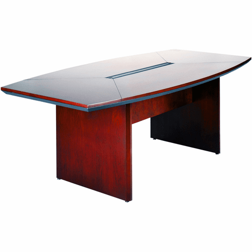 Mayline Corsica Conference Table Boat-Shaped Sierra Cherry [CTC72CRY]