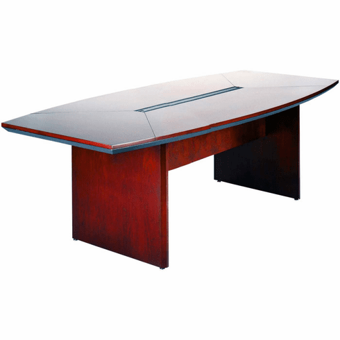 Mayline Corsica Conference Table Boat-Shaped Sierra Cherry [CTC84CRY]