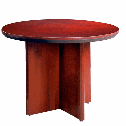 Mayline Corsica Conference Table Round Sierra Cherry [CTRNDCRY]