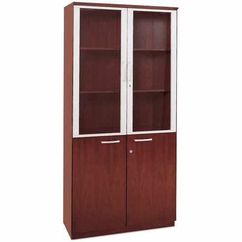 Mayline Corsica High Wall Cabinet With Doors Sierra Cherry Vhccry 17.png