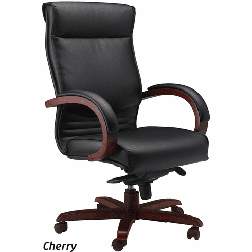 Mayline Corsica Leather Office Chair [CS]