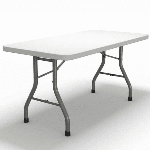 "Mayline Event 60""x30"" Rectangular Table Dark Gray [773060DGWT]"