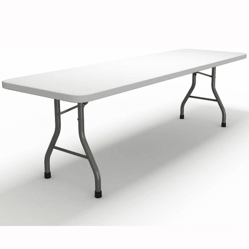 "Mayline Event 96""x30"" Rectangular Table Dark Gray [773096DGWT]"