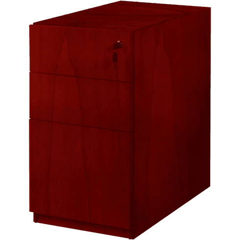 Mayline Luminary Pedestal File for Credenza / Return BBF Cherry [PBBF19C]