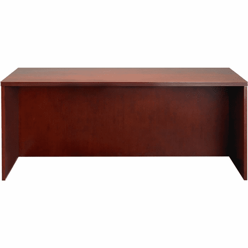 "Mayline Luminary Straight Front Desk 72"" Cherry Veneer [DKS3672C]"