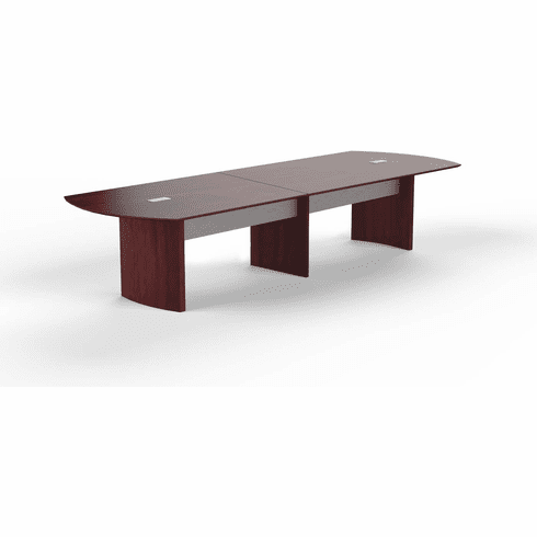 Mayline Medina 12' Conference Table Mahogany Laminate [MNC12LMH]
