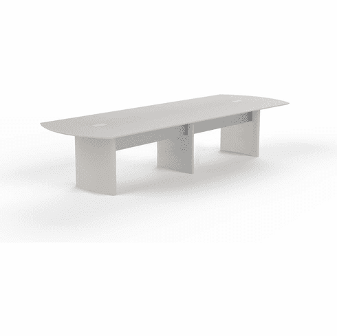 Mayline Medina 14' Conference Table Textured Sea Salt [MNC14TSS]