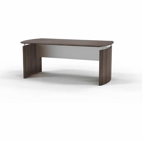 "Mayline Medina 72""W Desk Textured Brown Sugar Laminate [MND72TBS]"