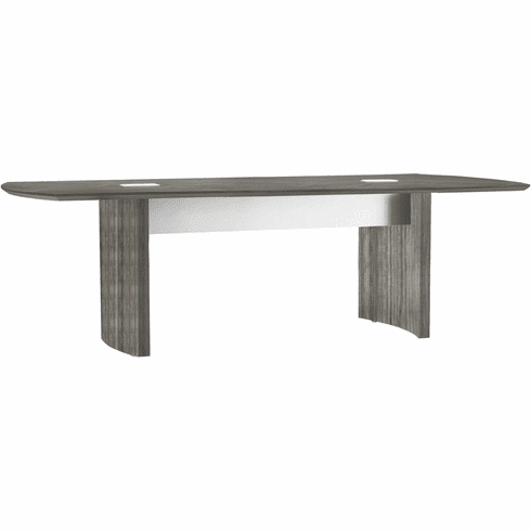 Mayline Medina Conference Table 10' Gray Steel [MNC10LGS]