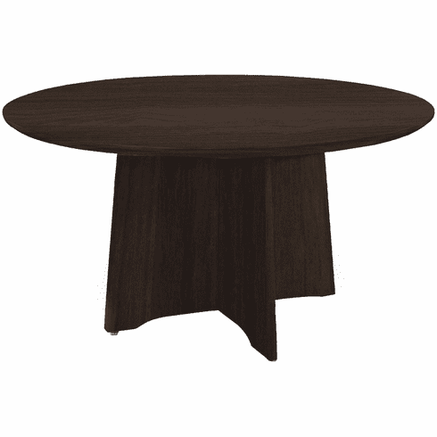"Mayline Medina Conference Table 48"" Round Mocha [MNCR48LDC]"