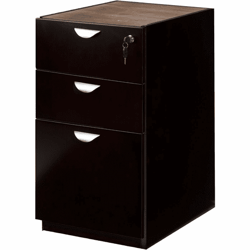 Mayline Mira BBF Pedestal for Credenza / Return Espresso [MPBBF22ESP]