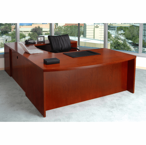 Mayline Mira Office Desk Set Espresso Veneer [MEU3ESP]