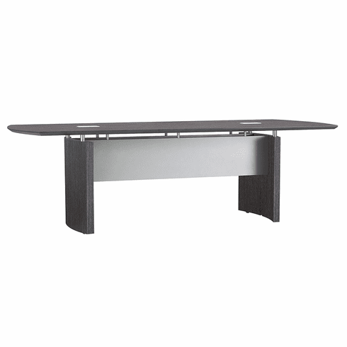 Mayline Napoli® 10' Conference Table Charcoal Gray [NC10CGR]