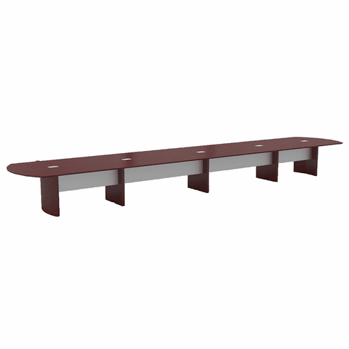 Mayline Napoli® 24' Conference Table Sierra Cherry [NC24CRY]