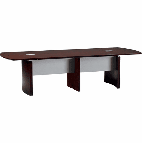 Mayline Napoli Conference Table 12' Mahogany Veneer [NC12MAH]