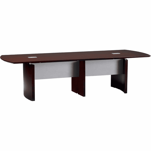 Mayline Napoli Conference Table 14' Mahogany Veneer [NC14MAH]