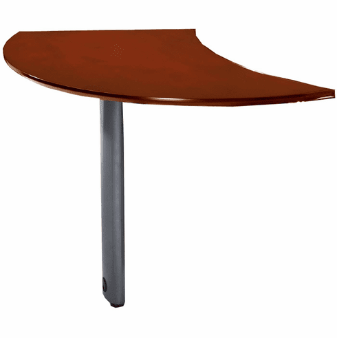 Mayline Napoli Curved Desk Extension Right Sierra Cherry [NEXTRCRY]