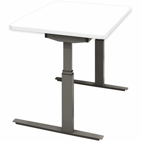 "Mayline RGE 48""x24"" Height Adjustable Table White [8022448EHS5PA11]"