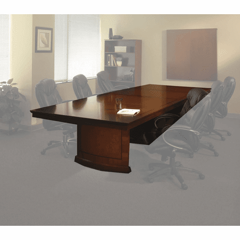 Mayline Sorrento Conference Table 12' Rectangular Bourbon Cherry [SC12SCR]