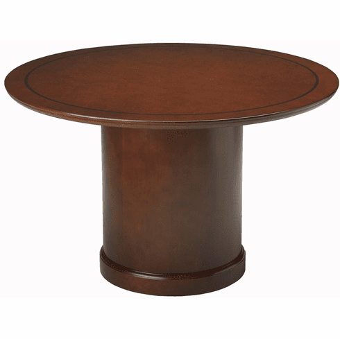 "Mayline Sorrento Conference Table 48"" Round Bourbon Cherry [SCR48SCR]"