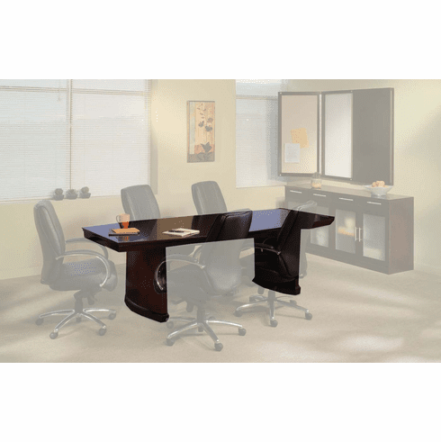 Mayline Sorrento Conference Table 8' Rectangular Espresso [SC8ESP]