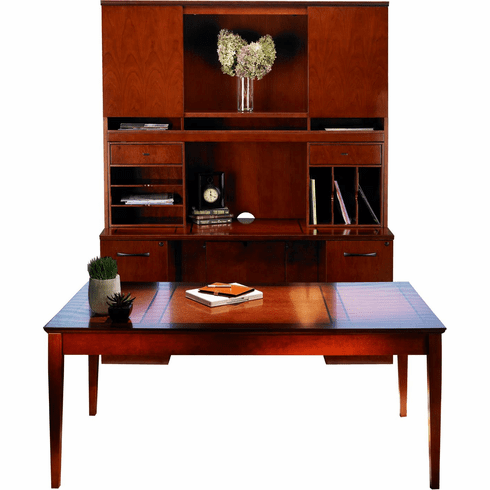 Mayline Sorrento Office Desk Set Bourbon Cherry Veneer [ST17SCR]