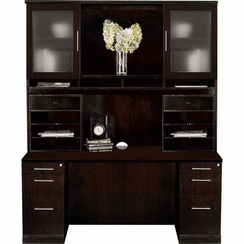 Mayline Sorrento Office Desk Set Espresso Veneer [ST22ESP]