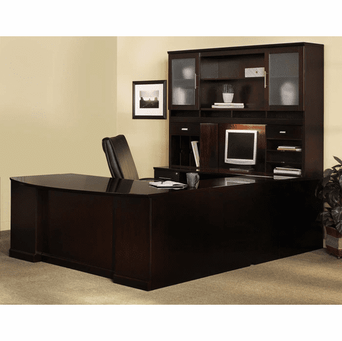 Mayline Sorrento Office Desk Set Espresso Veneer [ST2ESP]
