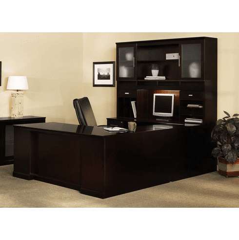 Mayline Sorrento Office Desk Set Espresso Veneer [ST8ESP]