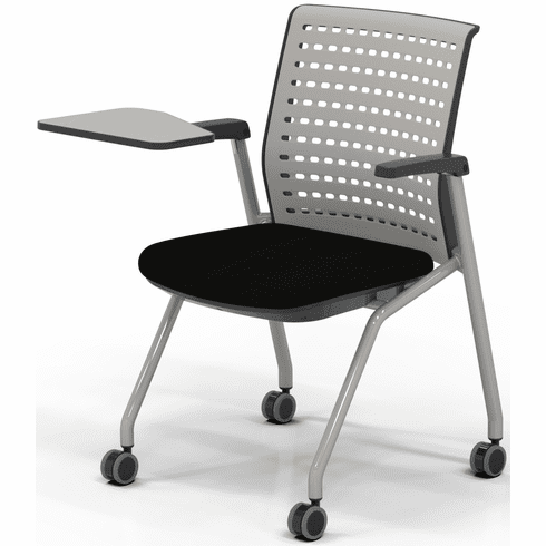 Mayline Thesis Training Chair Arms, Tablet, Black Fabric[ KTS3SGBLK]