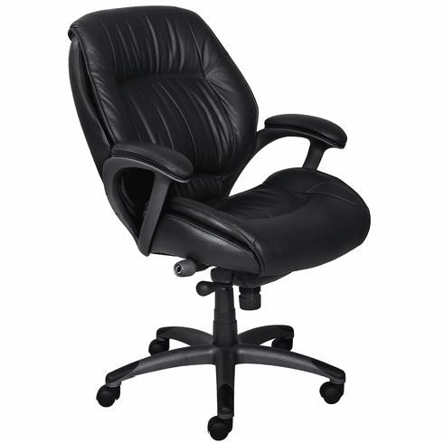 Mayline Ultimo Series Mid Back Leather Chair [ULMGR]