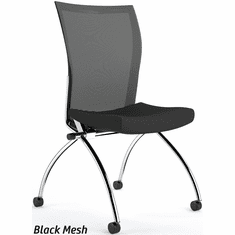 Mayline Valore Armless Mesh Back Nesting Chair [TSH2]