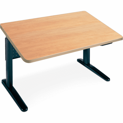 """Mayline XR 48""""x30"""" Single Surface Rectangular Height Adjustable Table [515L5BY]"""