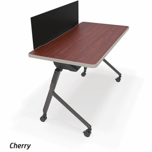 Mesa Flip Table with Black Modesty Panel [66123]