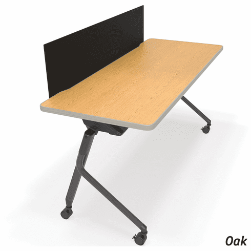 Mesa Flip Table with Black Modesty Panel [66153]