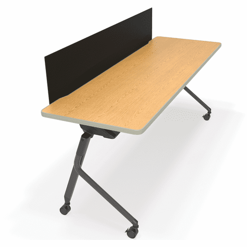 Mesa Flip Table with Black Modesty Panel [66183]