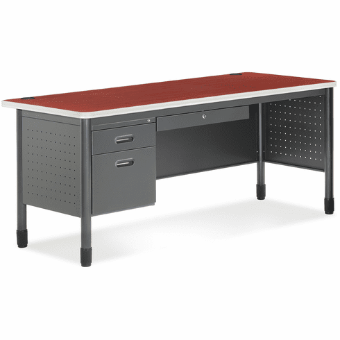 Mesa Series Single Pedestal Desk [66366]