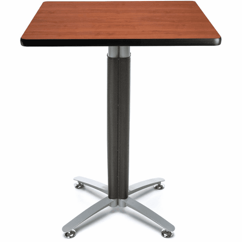 """Mesh Base Cafe Table 30"""" Square Top [CMT30SQ]"""