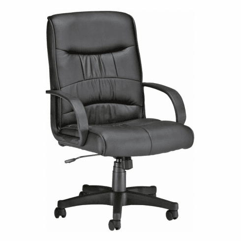Mid Back Faux Leather Desk Chair [508-LX]