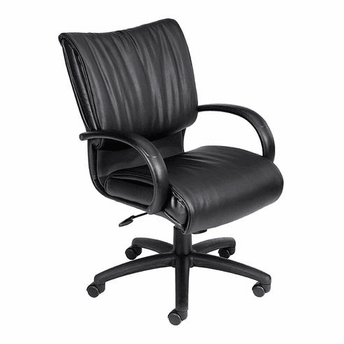 Mid Back Leather Plus<sup><font size=1>TM</font></sup> Executive Chair [B9706]