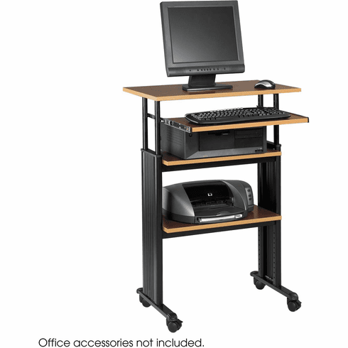 Muv™ Stand-Up Adjustable-Height Desk Cherry [1929CY]