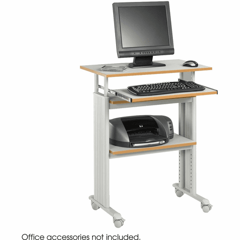 Muv™ Stand-Up Adjustable-Height Desk Gray [1929GR]